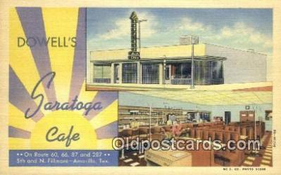 Dowells Saratoga Caf�, Amarillo, Texas, TX USA