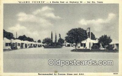 Alamo Courts, Del Rio, Texas, TX USA