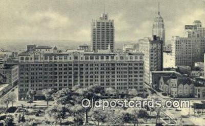 MTL011245 - The St Anthony, San Antonio, Texas, TX USA Hotel Postcard Motel Post Card Old Vintage Antique