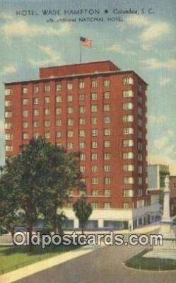Hotel Wade Hampton, Columbia, South Carolina, SC USA