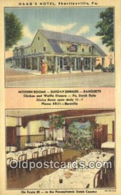 Haags Hotel, Statesville, Pennsylvania, PA USA