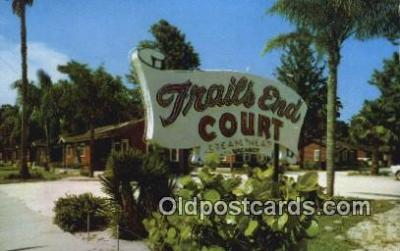 Trails End Motel, Daytona Beach, Florida, FL USA