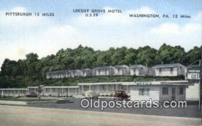 Locust Grove Motel, Washington, Pennsylvania, PA USA