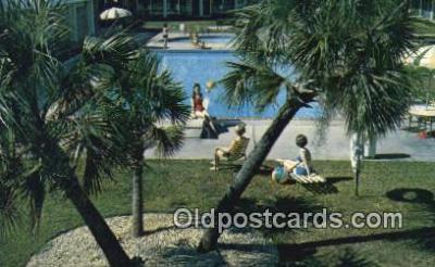 MTL011299 - Holiday Inn, Tallahassee, Florida, FL USA Hotel Postcard Motel Post Card Old Vintage Antique