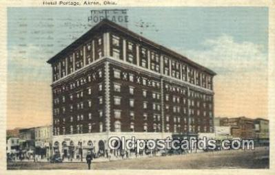 Hotel Portage, Akron, Ohio, OH USA