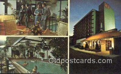 MTL011319 - Howard Johnsons Motor Lodge, Stamford, Connecticut, CT USA Hotel Postcard Motel Post Card Old Vintage Antique