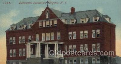 Benedictine Sanitarium, Kingston, New York, USA