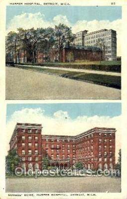 Nurses Home, Harper Hospital