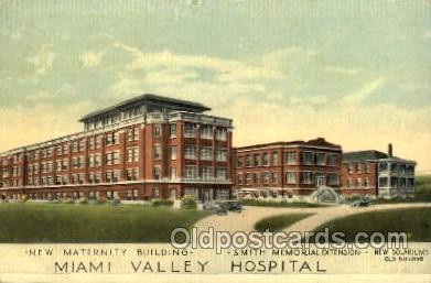 med100440 - Miami Valley Hospital  Postcard Post Cards Old Vintage Antique