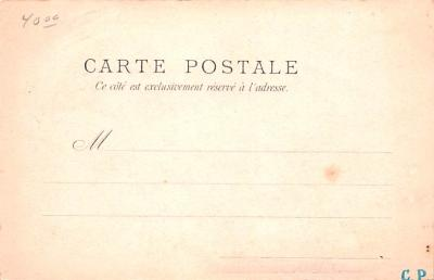 met001143 - Metamorphic Post Card, Old Vintage Antique Postcard  back