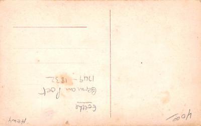 met001145 - Metamorphic Post Card, Old Vintage Antique Postcard  back