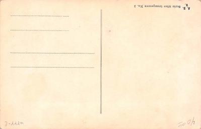 met001211 - Metamorphic Post Card, Old Vintage Antique Postcard  back