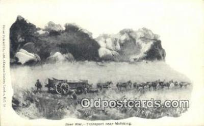 Mexican War, Transport near Mfeking