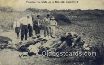 Mexican War, Viewing the Slain
