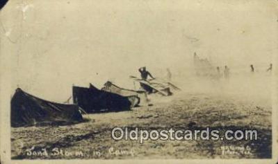 mex001075 - Sand Storm in Camp Mexican War Postcard Post Card Postal Mexicano Guerra tarjetas postales