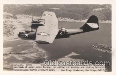 mil000001 - Catalina, Airplane, Aircraft, Postcard Postcards