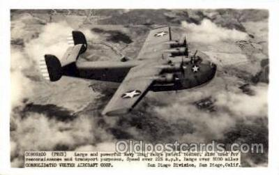 mil000100 - Coronado, PB2Y, Military Airplane Postcard Postcards