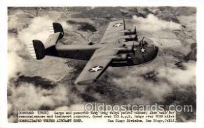 mil000100 - Coronado, PB2Y, Military Airplane Postcard Postcards