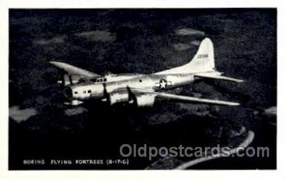 mil000143 - Boeing, Flying Fortress, Military Airplane Postcard Postcards