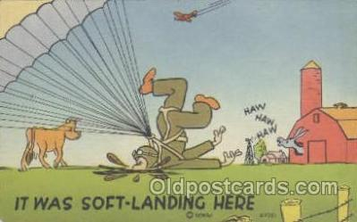 mil001167 - Military Comic Postcard Postcards