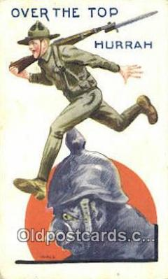 mil002352 - Artist Bernhard Wall Military Postcard Post Card Old Vintage Antique
