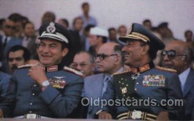 mil007232 - Anwar Sadat, Military Postcard Postcards