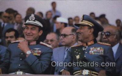 mil007270 - Anwar Sadat, Military Postcard Postcards