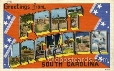 mil007344 - Fort Jackson, South Carolina, USA Military Postcard Postcards