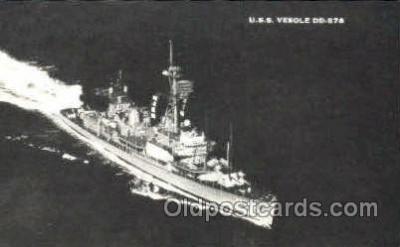 U.S.S. Vesole DD-878