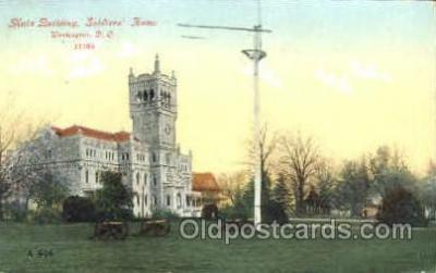 mil050138 - Soldiers' home, Washington DC, USA US Navy, Military Postcard Postcards