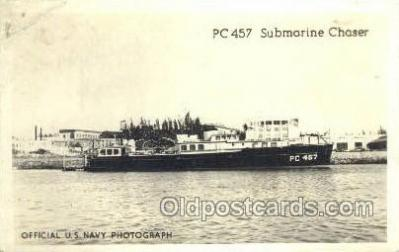 PC 457 Submarine chaser