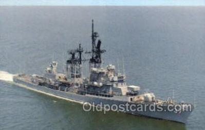 USS Farragut Guided Missile Destroyer