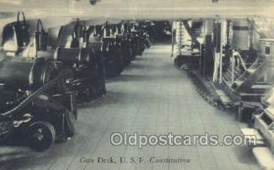 USF Constitution, Gun Deck