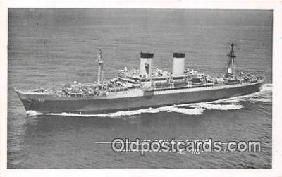 mil050326 - USS Gen HW Butner Ap-113  Postcard Post Card