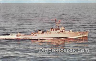 mil050347 - USS Charles Berry De-1035 Corporal Charles Joseph Berry USMC Postcard Post Card
