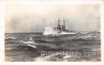 mil050370 - USS Oklahoma  Postcard Post Card
