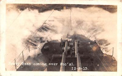 mil051094 - Military Battleship Postcard, Old Vintage Antique Military Ship Post Card