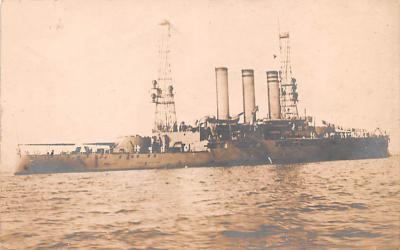 mil051095 - Military Battleship Postcard, Old Vintage Antique Military Ship Post Card