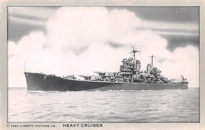 mil051108 - Military Battleship Postcard, Old Vintage Antique Military Ship Post Card