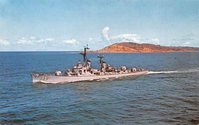 mil051111 - Military Battleship Postcard, Old Vintage Antique Military Ship Post Card
