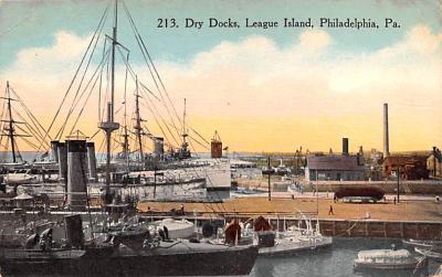 mil051156 - Military Battleship Postcard, Old Vintage Antique Military Ship Post Card