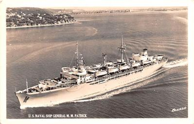 mil051166 - Military Battleship Postcard, Old Vintage Antique Military Ship Post Card