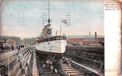 mil051176 - Military Battleship Postcard, Old Vintage Antique Military Ship Post Card
