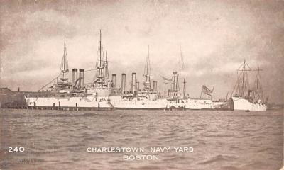mil051179 - Military Battleship Postcard, Old Vintage Antique Military Ship Post Card
