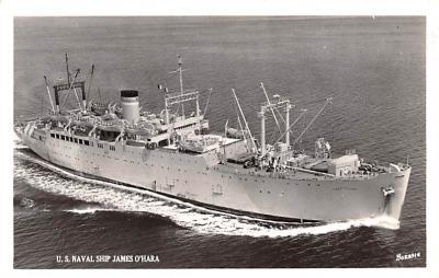 mil051188 - Military Battleship Postcard, Old Vintage Antique Military Ship Post Card
