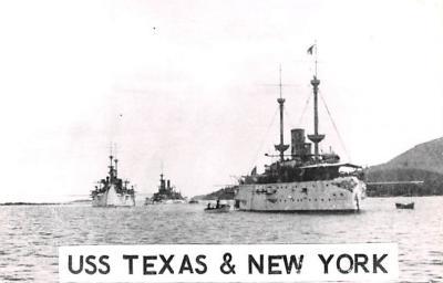 mil051192 - Military Battleship Postcard, Old Vintage Antique Military Ship Post Card