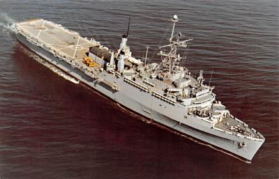 mil051194 - Military Battleship Postcard, Old Vintage Antique Military Ship Post Card