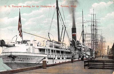 mil051198 - Military Battleship Postcard, Old Vintage Antique Military Ship Post Card