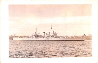 mil051229 - Military Battleship Postcard, Old Vintage Antique Military Ship Post Card