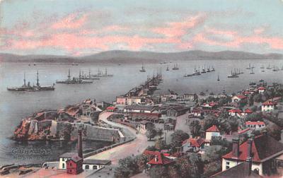 mil051240 - Military Battleship Postcard, Old Vintage Antique Military Ship Post Card